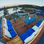 La cocotte bleue terrasse lounge